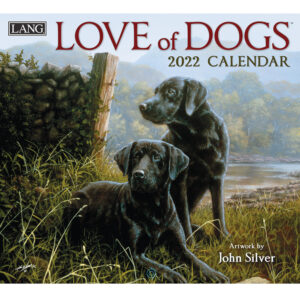 Lang 2022 Calendar Love of Dogs Calender Fits Wall Frame