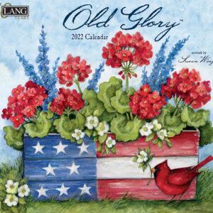 Lang 2022 Calendar American Old Glory Calender Fits Wall Frame