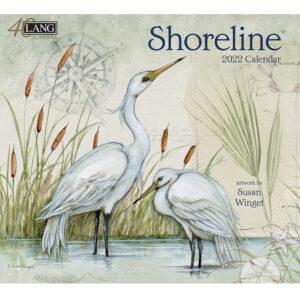 Lang 2022 Calendar Shoreline Calender Fits Wall Frame