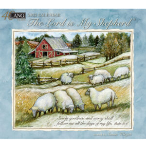 Lang 2022 Calendar The Lord is My Shepherd Calender Fits Wall Frame