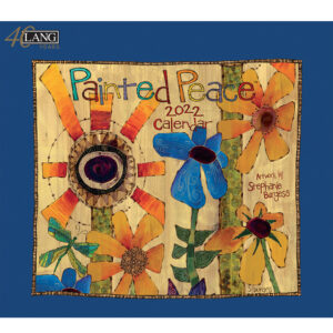 Lang 2022 Calendar Painted Peace Calender Fits Wall Frame