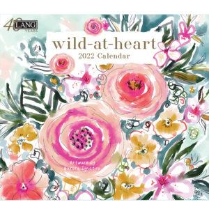 Lang 2022 Calendar Wild at Heart Calender Fits Wall Frame