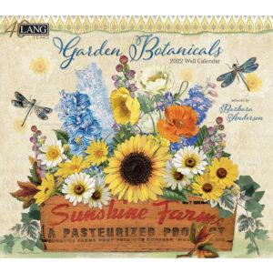 Lang 2022 Calendar Garden Botanicals Calender Fits Wall Frame
