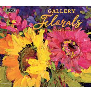 Lang 2022 Calendar Gallery Floral Calender Fits Wall Frame