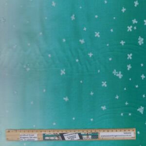 Quilting Patchwork Fabric Moda Ombre Bloom Green Allover 50x55cm FQ
