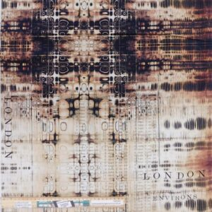 Quilting Patchwork Fabric Tim Holtz Abandoned Gridlock Allover 50x55cm FQ