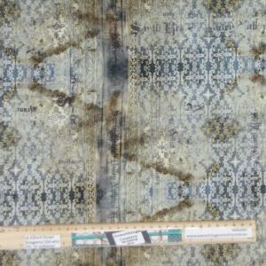 Quilting Patchwork Fabric Tim Holtz Abandoned Stained Allover 50x55cm FQ