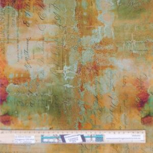 Quilting Patchwork Fabric Tim Holtz Abandoned Sienna Allover 50x55cm FQ
