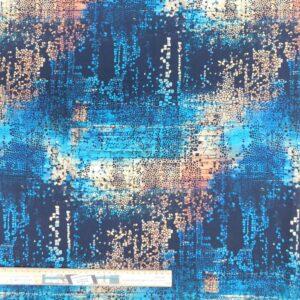 Quilting Patchwork Fabric Tim Holtz Abandoned Indigo Allover 50x55cm FQ