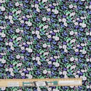 Quilting Patchwork Fabric Forget Me Knots Allover 50x55cm FQ