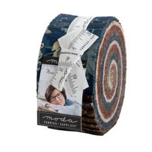Moda Quilting Jelly Roll Patchwork Marias Sky 2.5 Inch Sewing Fabrics