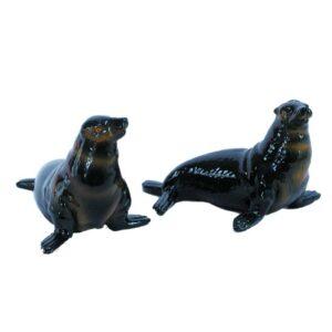 Collectable Novelty Kitchen Fur Seals Salt and Pepper Set