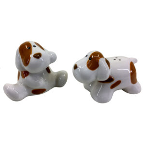 Collectable Novelty Kitchen Puppy Dogs Salt and Pepper Set