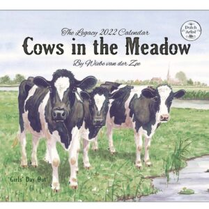 Legacy 2022 Calendar Cows in the Meadow Calender Fits Wall Frame