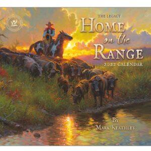 Legacy 2022 Calendar Home on the Range Calender Fits Wall Frame