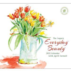 Legacy 2022 Calendar Everyday Beauty Calender Fits Wall Frame