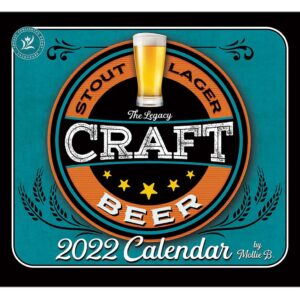 Legacy 2022 Calendar Craft Beer Calender Fits Wall Frame