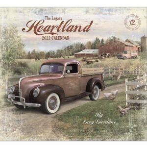 Legacy 2022 Calendar Heartland Calender Fits Wall Frame
