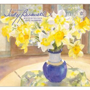 Legacy 2022 Calendar Judy Buswell Watercolors Calender Fits Wall Frame