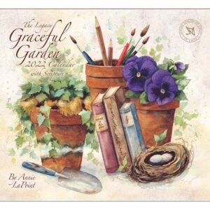 Legacy 2022 Calendar Graceful Garden Calender Fits Wall Frame
