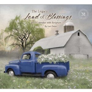 Legacy 2022 Calendar Land of Blessings Calender Fits Wall Frame