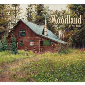 Legacy 2022 Calendar Woodland Calender Fits Wall Frame