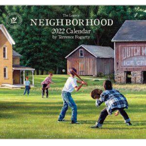Legacy 2022 Calendar Neighborhood Calender Fits Wall Frame
