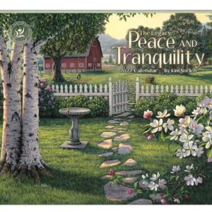 Legacy 2022 Calendar Peace and Tranquility Calender Fits Wall Frame