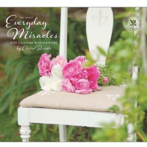 Legacy 2022 Calendar Everyday Miracles Calender Fits Wall Frame
