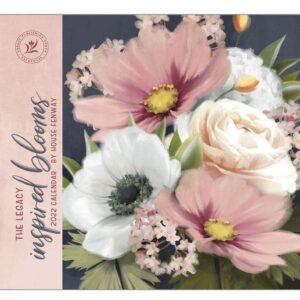 Legacy 2022 Calendar Inspired Blooms Calender Fits Wall Frame