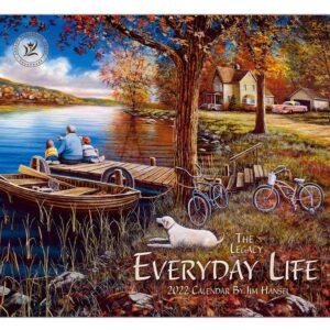 Legacy 2022 Calendar Everyday Life Fits Wall Frame