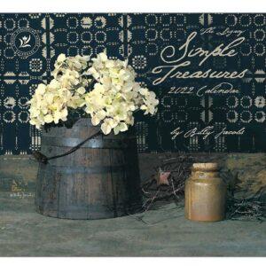 Legacy 2022 Calendar Simple Treasures Fits Wall Frame