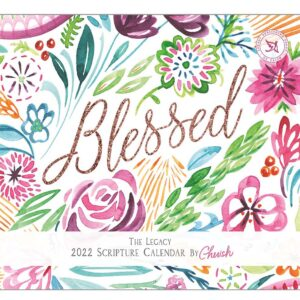 Legacy 2022 Calendar Inspired Blessed Fits Wall Frame