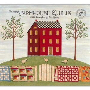 Legacy 2022 Calendar Farmhouse Quilts Fits Wall Frame