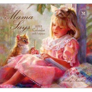 Legacy 2022 Calendar Mama Says Fits Wall Frame