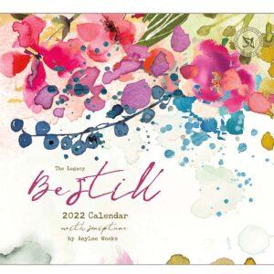 Legacy 2022 Calendar Inspired Be Still Fits Wall Frame