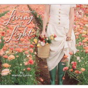 Legacy 2022 Calendar Living in the Light Fits Wall Frame