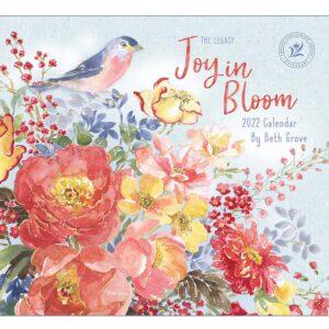 Legacy 2022 Calendar Joy in Bloom Fits Wall Frame