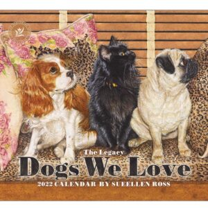 Legacy 2022 Calendar Dogs We Love Fits Wall Frame