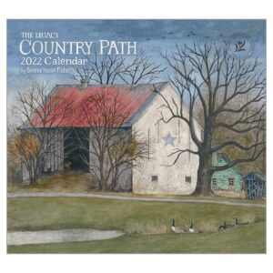 Legacy 2022 Calendar Country Path Fits Wall Frame