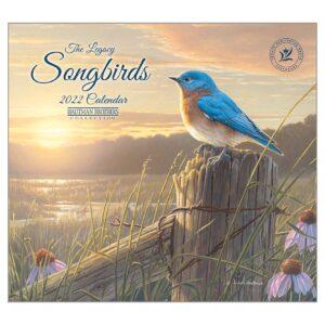 Legacy 2022 Calendar Songbirds Fits Wall Frame