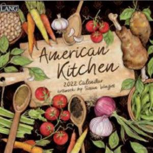 Lang 2022 Calendar American Kitchen Calender Fits Wall Frame