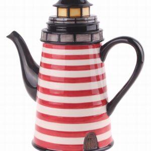 Collectable Novelty Kitchen Teapot Beacon Lighthouse China Tea Pot
