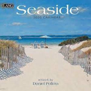 Lang 2022 Calendar Seaside Calender Fits Wall Frame