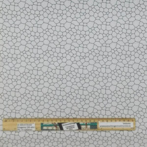 Quilting Patchwork Sewing Fabric Morning Pebble White 50x55cm FQ