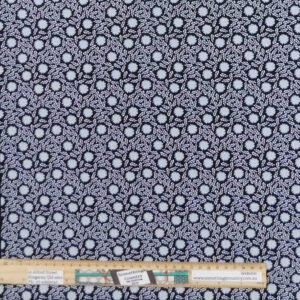 Quilting Patchwork Sewing Fabric Morning Frost Flowers 50x55cm FQ