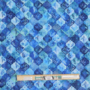 Quilting Patchwork Sewing Fabric Blue Haven 50x55cm FQ