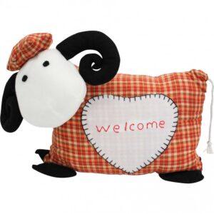 Country Doorstop Sitting Weighted Welcome Sheep Door Stopper