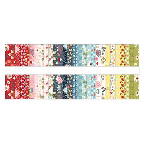 Poppie Cotton Quilting Jelly Roll Patchwork Farm Girls Unite 2.5 Inch Sewing Fabrics