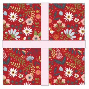 Poppie Cotton Quilting Charm Pack Patchwork Farm Girls Unite 5 Inch Sewing Fabrics